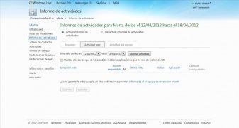 Windows Live Protección Infantil imagen 5 Thumbnail
