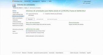 Windows Live Family Safety imagem 6 Thumbnail