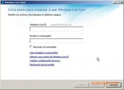 Windows Live Sync imagen 3 Thumbnail