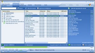 Windows Media Player 10 bild 2 Thumbnail