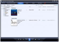 Windows Media Player 11  Español imagen 3
