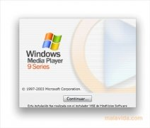 Windows Media Player 9 imagen 4 Thumbnail