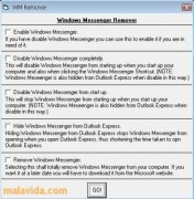 Windows Messenger Remover Изображение 2 Thumbnail