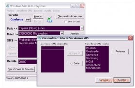 Windows SMS M.O.D System imagen 3 Thumbnail