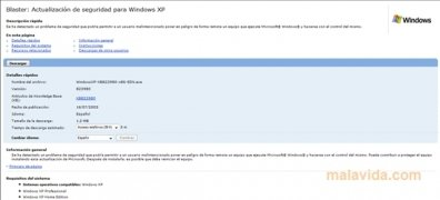 Windows XP Security Patch KB823980 imagen 2 Thumbnail