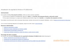 Windows XP Security Update KB824146 imagen 2 Thumbnail