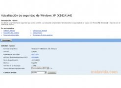 Windows XP Security Update KB824146 imagen 3 Thumbnail