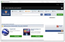 WindowsAndroid  4.0.3 Beta Español imagen 1