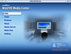 WinDVD Media Center image 2 Thumbnail
