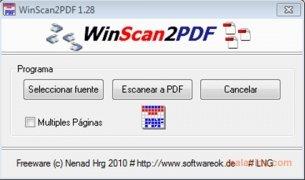 WinScan2PDF Изображение 1 Thumbnail