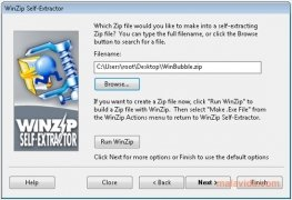 WinZip Self-Extractor immagine 3 Thumbnail