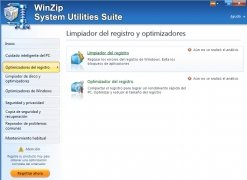 WinZip System Utilities Suite immagine 3 Thumbnail