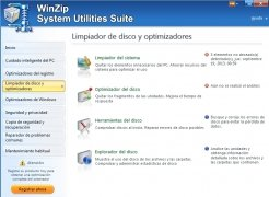 WinZip System Utilities Suite image 4 Thumbnail