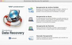Wondershare Data Recovery imagem 1 Thumbnail