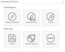 Wondershare DVD Creator imagen 1 Thumbnail