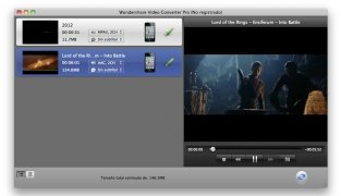 Wondershare Video Converter imagem 2 Thumbnail