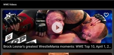 WWE Videos HD immagine 4 Thumbnail
