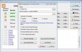 XAMPP  5.6.3 imagen 2
