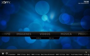 XBMC  13.2 Español imagen 1
