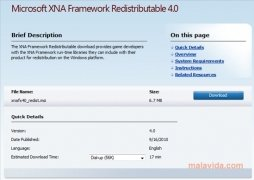 XNA Framework image 1 Thumbnail
