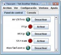 Yawcam  0.4.1 Español imagen 1