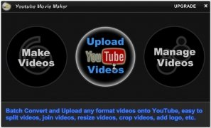 Youtube Movie Maker imagem 3 Thumbnail