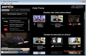Zattoo imagen 3 Thumbnail