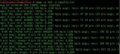 ZMap  1.1.2 imagen 2