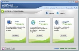 ZoneAlarm Antivirus immagine 1 Thumbnail