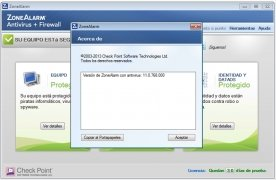 ZoneAlarm Antivirus immagine 2 Thumbnail