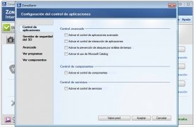ZoneAlarm Internet Security imagen 3 Thumbnail