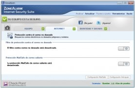 ZoneAlarm Internet Security immagine 4 Thumbnail
