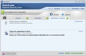 ZoneAlarm Internet Security imagen 5 Thumbnail