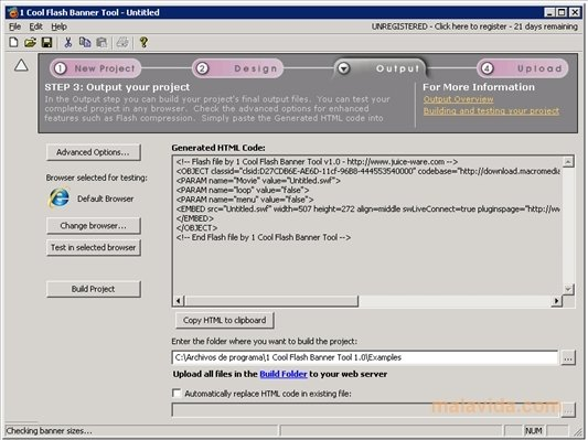 1 Cool Flash Banner Tool 1 0 050621 - Download for PC Free