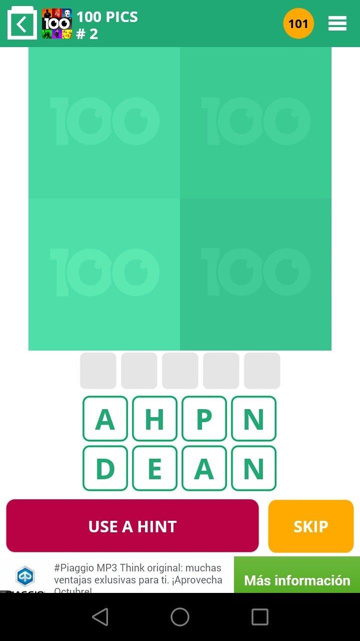 100 Pics Quiz Android image 5