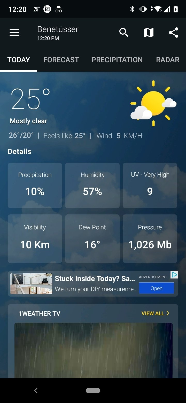 1Weather Android image 8