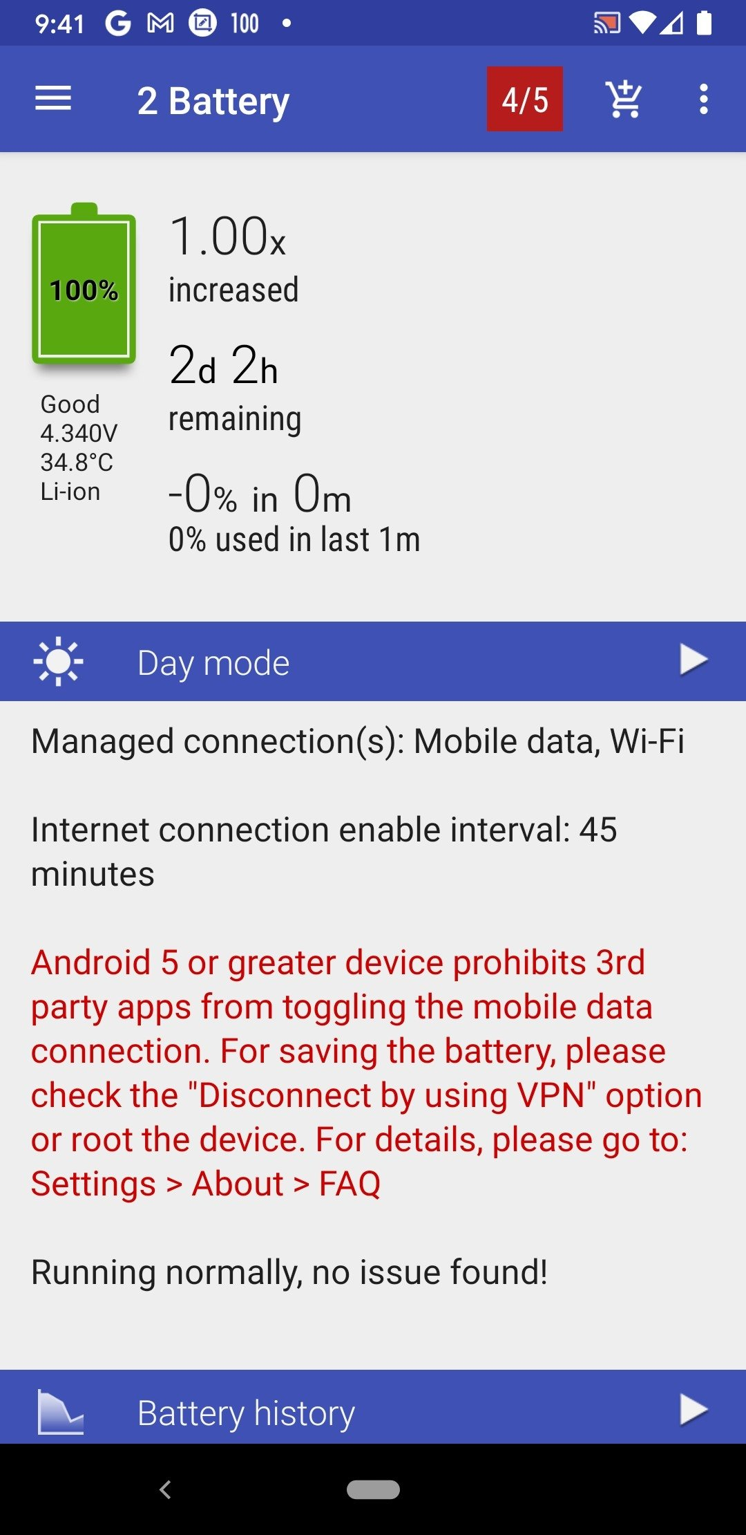 2x battery saver android apk
