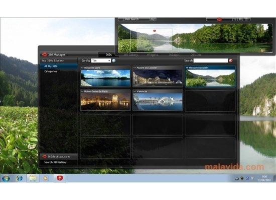 360 desktop escritorio panormico
