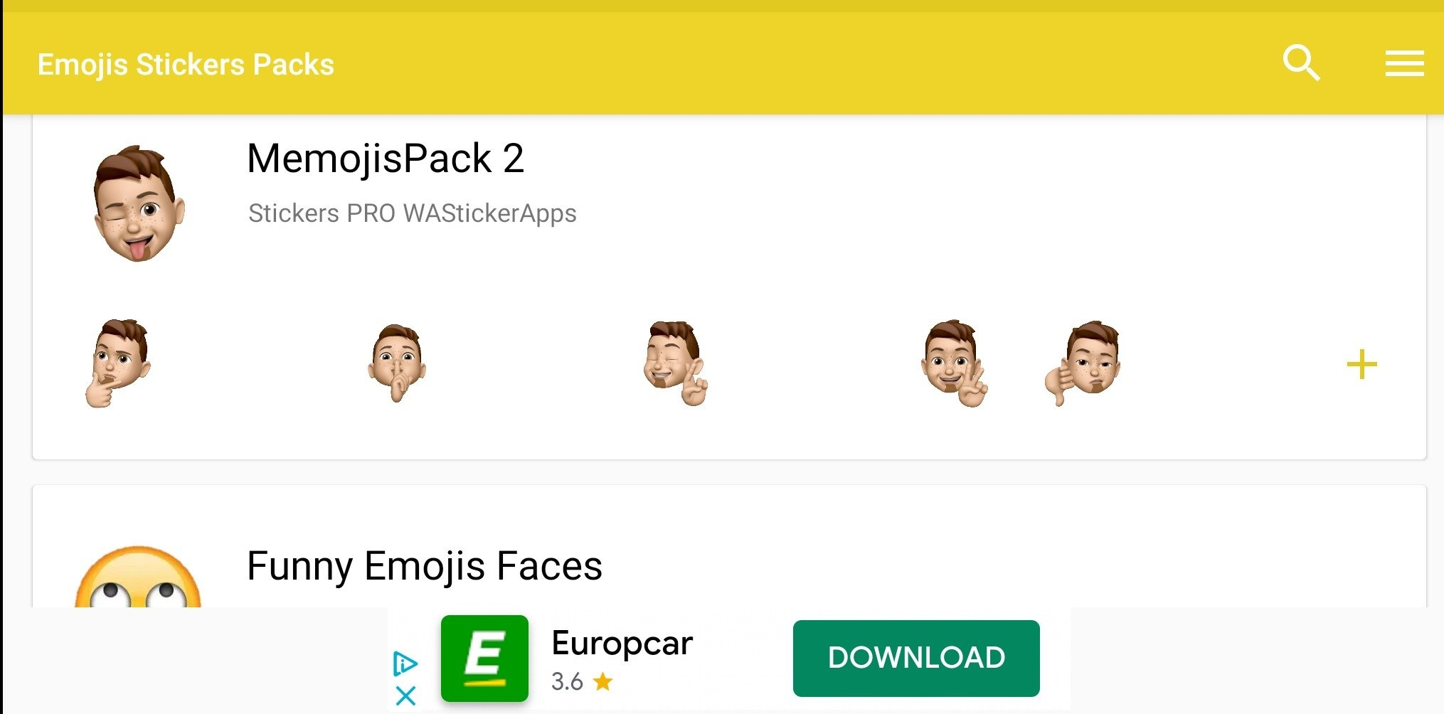 3D Animated Emojis Stickers