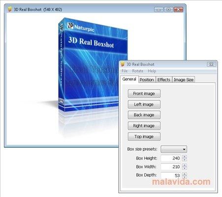 3D Real Boxshot image 3
