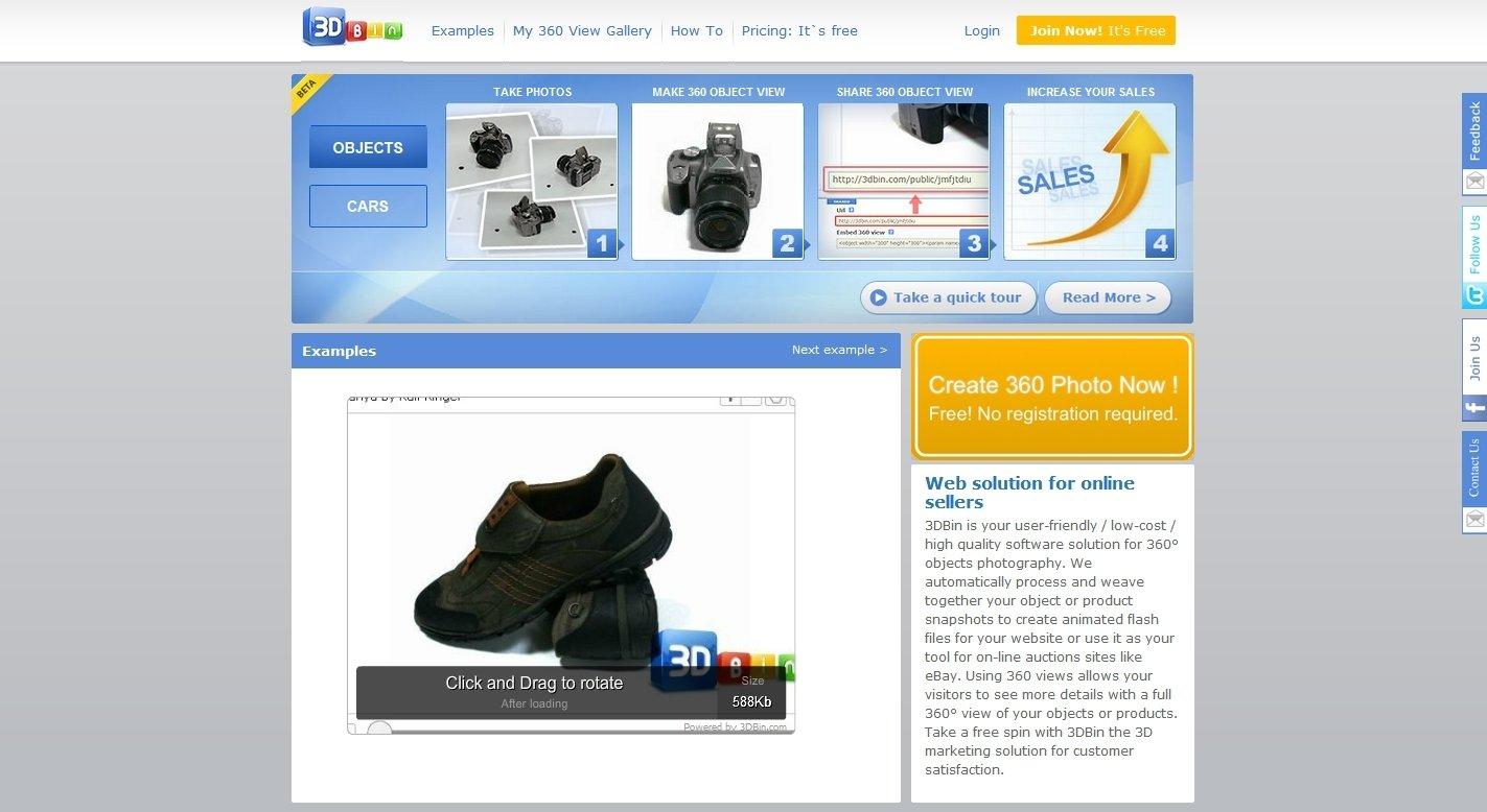 3DBin Webapps image 4