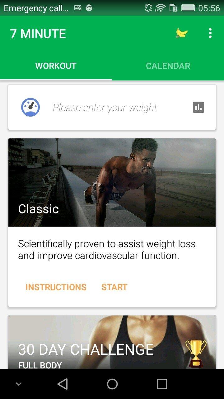 allenamento di 7 minuti per perdere peso
