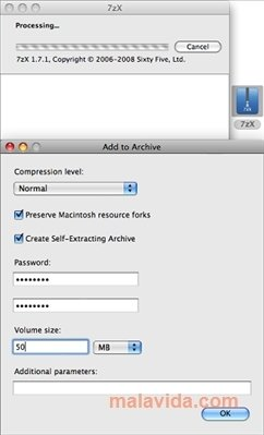 7zX Mac image 4