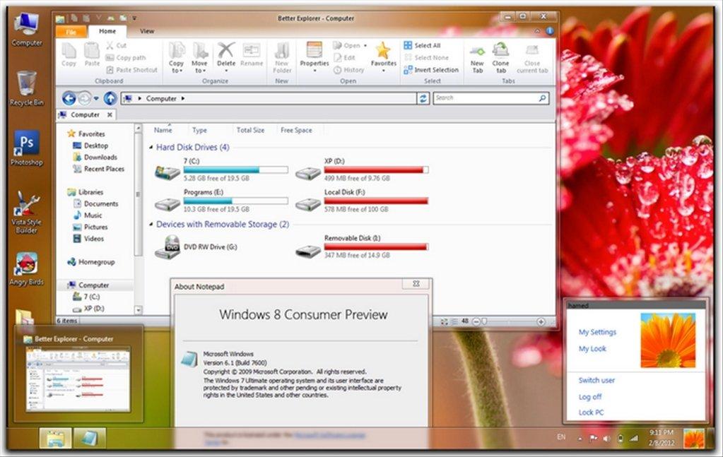 windows 8 téléchargement gratuit