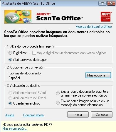 ABBYY ScanTo Office image 3