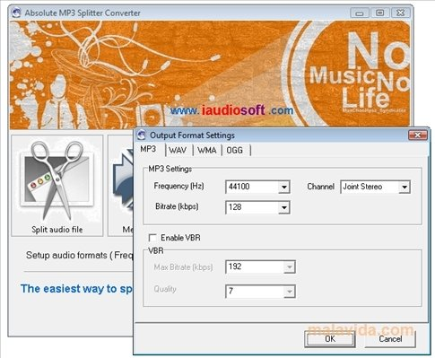 Absolute MP3 Splitter Converter 4 0 0 - Download for PC Free