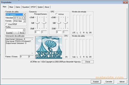 AC3 Audio Codec 1.63b