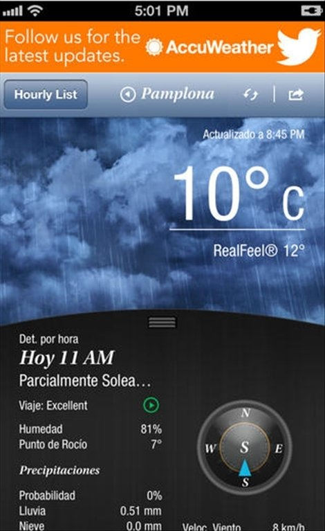 Download AccuWeather 11.3.2 iPhone - Free on intellicast weather, yahoo weather,