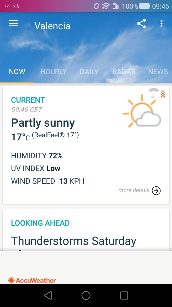 AccuWeather Android image 6