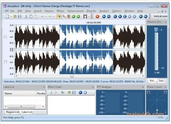 Acoustica Premium 7 1 116 - Download for PC Free